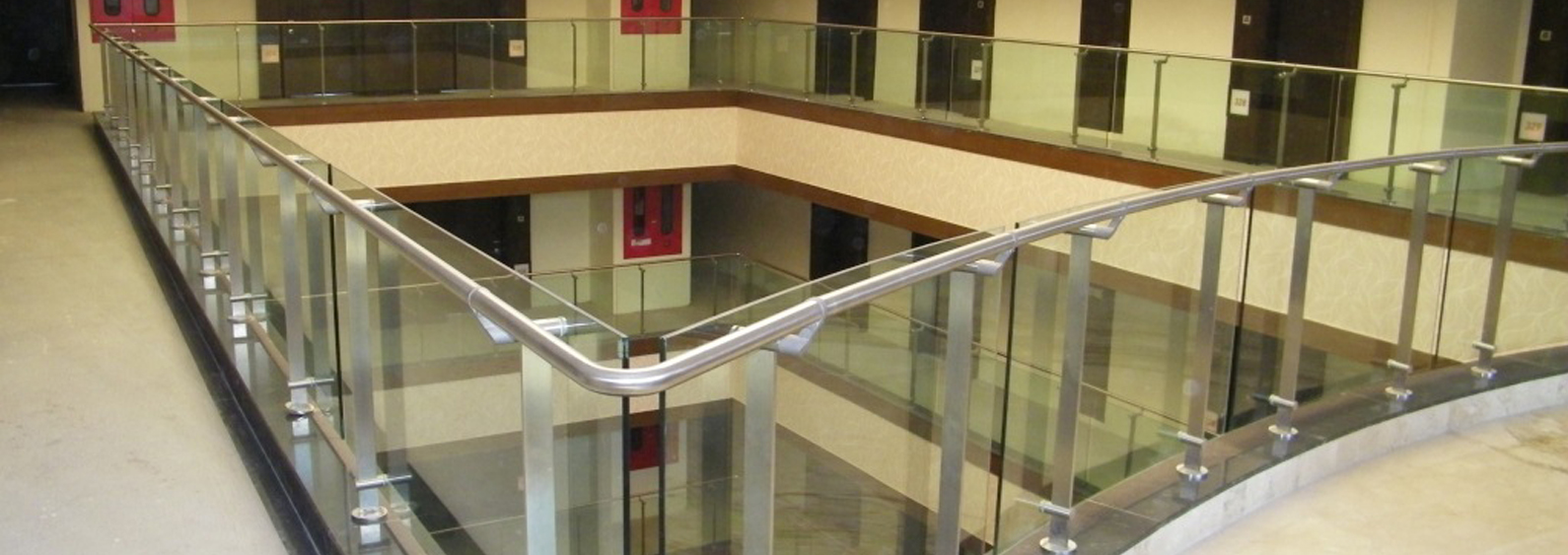 Q railing| q railing dealers in Hyderabad| Stainless steel railings| glass  balustrades