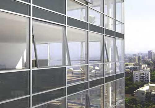 Facade| Schuco aluminium windows & Facades| Glass facade in